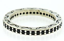 Pandora Black CZ Eternity Ring