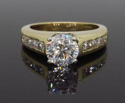 IGI Certified .96CT Diamond Engagement Ring