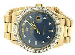 Rolex Day-Date in 14K with Diamonds