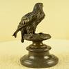 Elegant Classic Bronze on Marble Base Statue