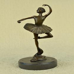 Beautiful Bronze Ballerina Figure