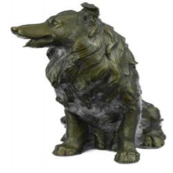 Dog Shaped Theme Bronze Sculpture