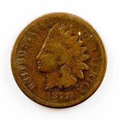 Key Full Rim Plus 1877 Indian Head Cent