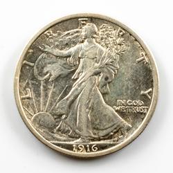 1916 Better Key Walking Liberty Half