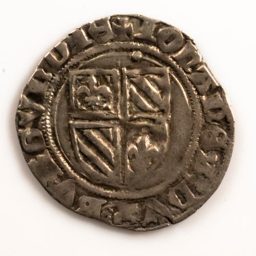 Burgundy Jean Sans Peur 1404-1419 AR Blanc Silver B1224