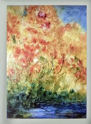 Abstract Landscapes on canvas