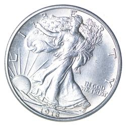 1918 Walking Liberty Silver Half Dollar - Uncirculated