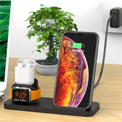 3 in 1 Qi Wireless Fast Charger Stand Cooling Fan