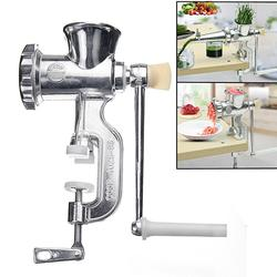 2 In 1 Hand Operated Juicer Presses Food Meat Grinder