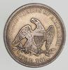 1857 Seated Liberty Quarter - Choice