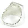 Unisex Sterling Turquoise & Black Onyx Ring, 9