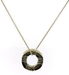 Tiffany & Co Atlas Pendant Necklace