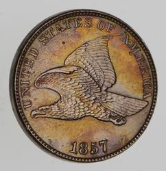 1857 Flying Eagle Cent - Choice