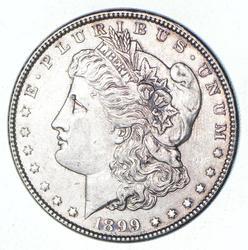 1899 Morgan Silver Dollar - Uncirculated
