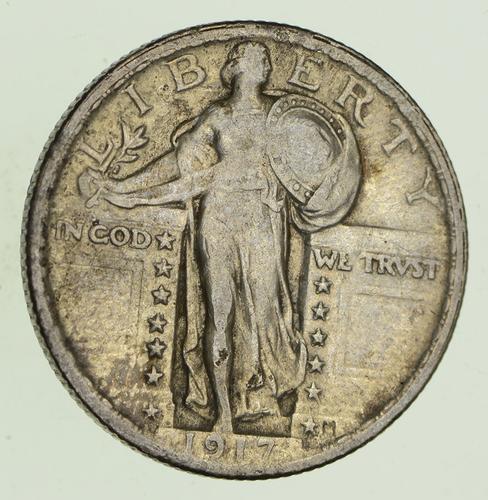 1917 Standing Liberty Silver Quarter - Circulated