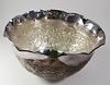 699.80 Grams Rare Design Silver Bowl