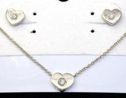 Sterling and Diamond Tiffany & Co. Set