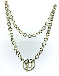 Tiffany & Co Atlas Toggle Necklace