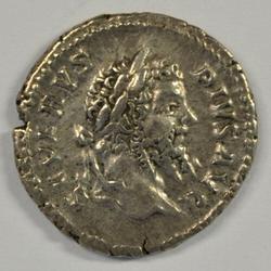 Near mint Septimius Severus Roman Silver Denarius 211AD