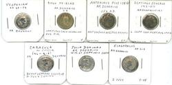 7 Great diff. Roman Silver Denarius, from 69 to 218 AD
