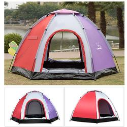 Outdoor 5-6 People Pop-Up Camping Tent
