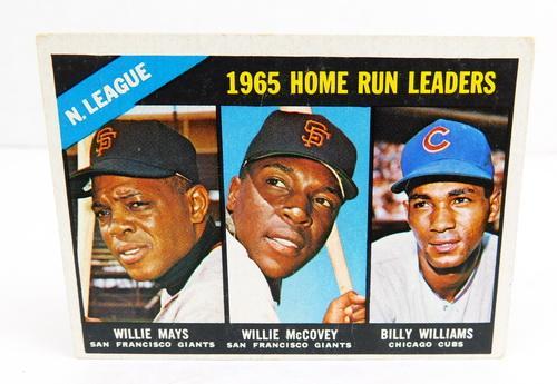 1965 Home Run Leaders Baseball Card, #217 | USAuctionBrokers com