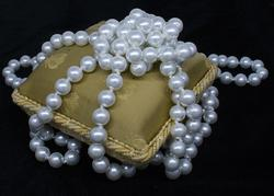 Art Deco 52 inch Knotted Long Pearl Rope Necklace