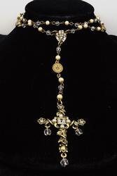 Our Lady of Miracles Rosary Necklace