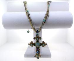 Desert Gypsy Cross Necklace
