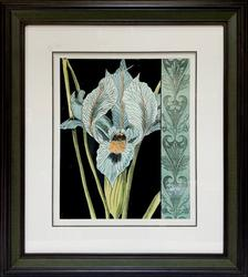Botanical Decorative Art of An Orchid