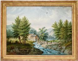 19th Century American School Original Painting
