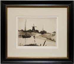Ludwig KÜHN  1859-1936, Framed Engraving