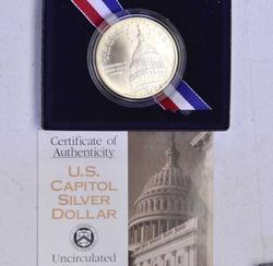 1994 Capitol BU Commem Dollar
