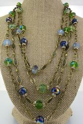 Crystal Torsade Necklace