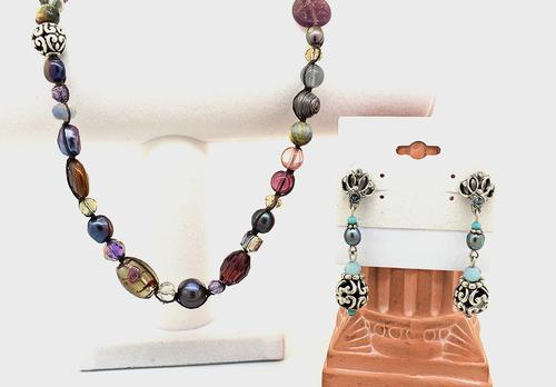 Amazing Boho Necklace and Earring Set