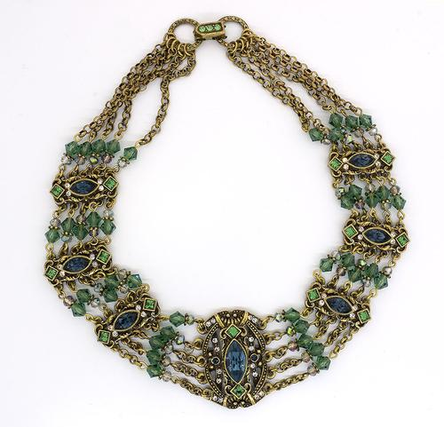 Luxurious Madrid Victorian Collar Necklace
