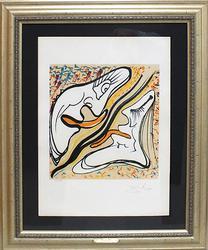 Salvador Dali, Hallucinogenic Embrace