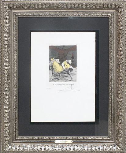 Salvador Dali, Les Caprices De Goya
