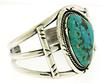 American Indian Turquoise Cuff Bracelet
