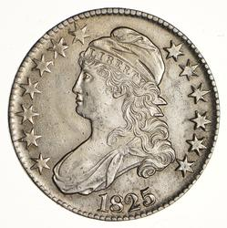 1825 Capped Bust Half Dollar - Choice