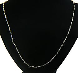 Nice Twisted Chain Necklace