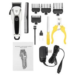 Pet Clipper Rechargeable Electric Trimmer Hair Cutter