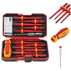 13Pcs 1000V Electronic Insulated Screwdriver Set