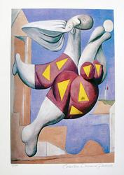 Pablo Picasso, Bather With Beach Ball