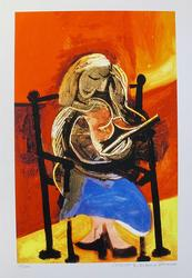 Pablo Picasso, Seated Woman Reading