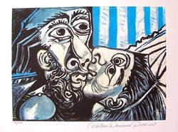 Pablo Picasso, The Kiss