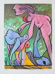 Pablo Picasso, The Rescue