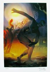 Salvador Dali, Cosmic Athlete