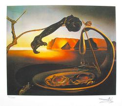 Salvador Dali, The Sublime Moment