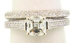 Diamond Bridal Set at 2.5 CTW in 18K
